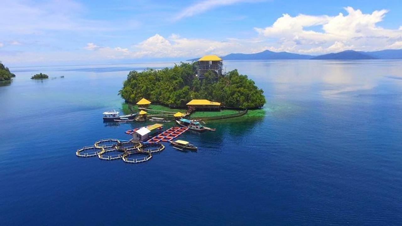 Pulau Bintang di Ujung Utara Kolut   Website Profil Desa Tarengga
